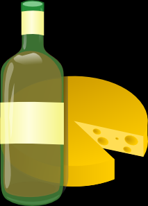 winecheeseclipart